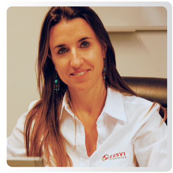 Jimena Olazar en CESVI Argentina