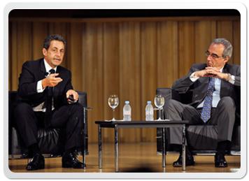 Nicolás Sarkozy- ex Presidente de Francia- .