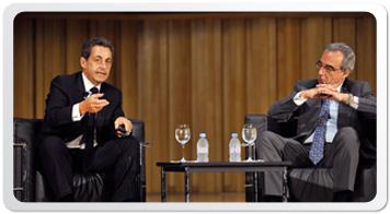 Nicolás Sarkozy ex Presidente de Francia