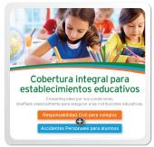 Cobertura para alumnos